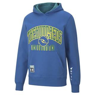 x The Hundreds Reversible Hoodie Olympian Blue