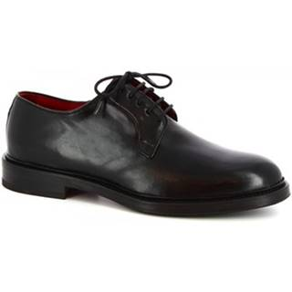 Derbie Leonardo Shoes  07266 MONTECARLO NERO
