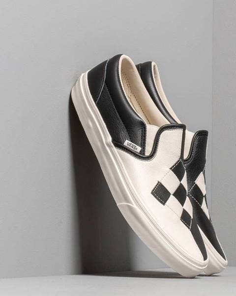 Classic Slip-On (Woven Leather) Checkerboard