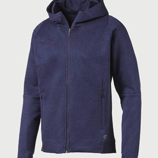 Mikina Puma FINAL Casuals Hooded Jacket Modrá