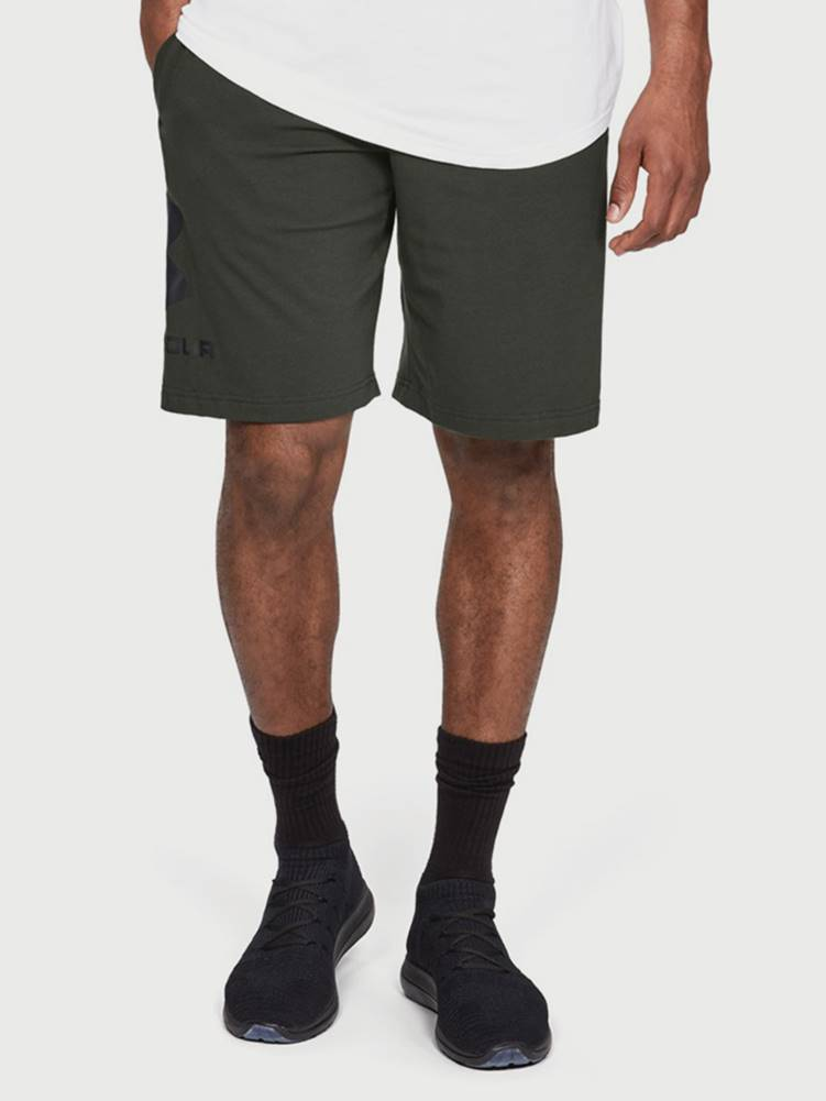 Under Armour Kraťasy Under Armour Sportstyle Cotton Graphic Short Zelená